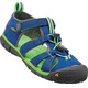 Keen Youth Seacamp II CNX Sandals True Blue/Jasmine Green